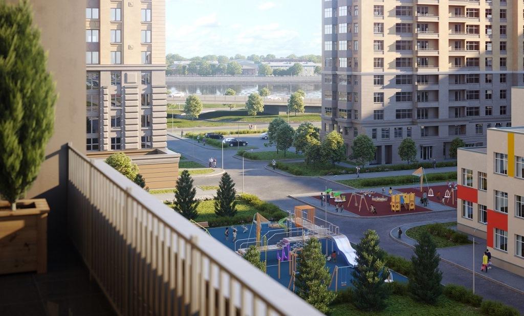 Продам 3-комн. квартиру по адресу Россия, Ленинградская область, Санкт-Петербург, Октябрьская наб. фото 3 по выгодной цене